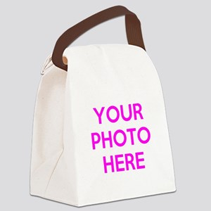 Customize photos Canvas Lunch Bag