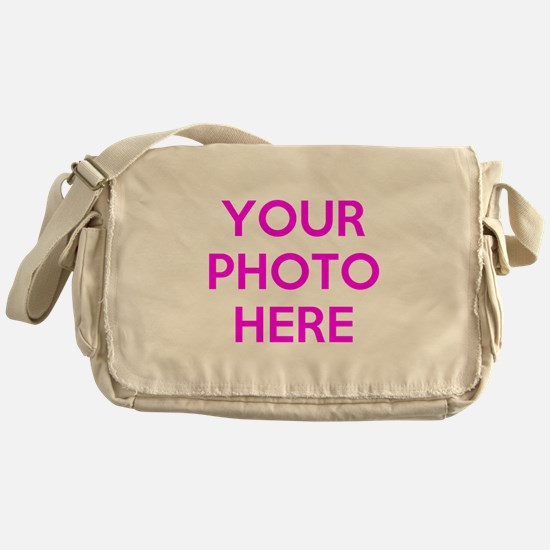 Customize photos Messenger Bag