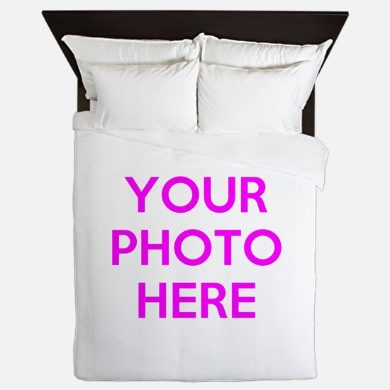 Customize photos Queen Duvet