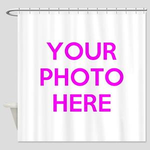 Customize Photos Shower Curtain