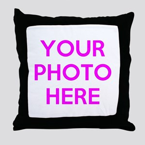 Customize photos Throw Pillow