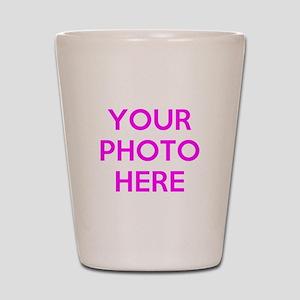 Customize photos Shot Glass