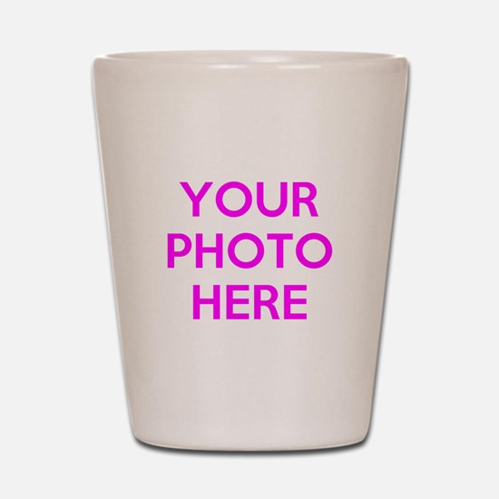 Customize photos Shot Glass