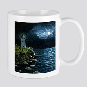 Sea View 245 lighthouse Mugs