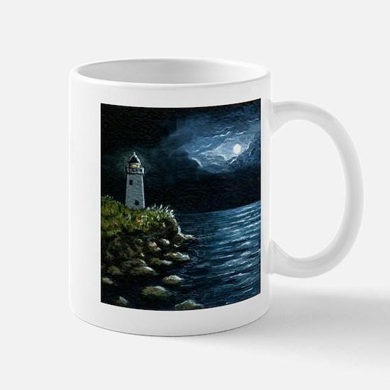 Sea View 245 lighthouse Mugs