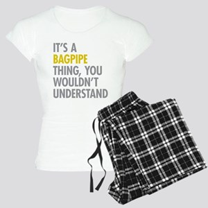 Its A Bagpipe Thing Women's Light Pajamas