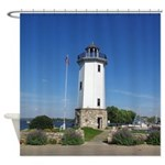 Fond Du Lac Lighthouse Shower Curtain