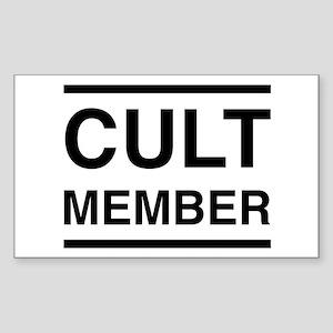 CULT MEMBER T-Shirts Sticker