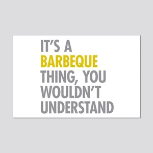 Its A Barbeque Thing Mini Poster Print