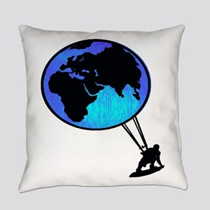 KITE THE WORLD Everyday Pillow