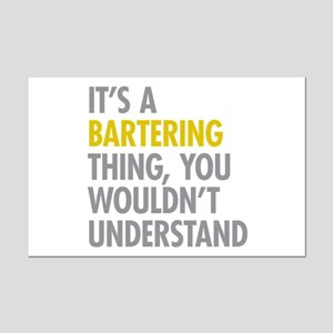 Its A Bartering Thing Mini Poster Print