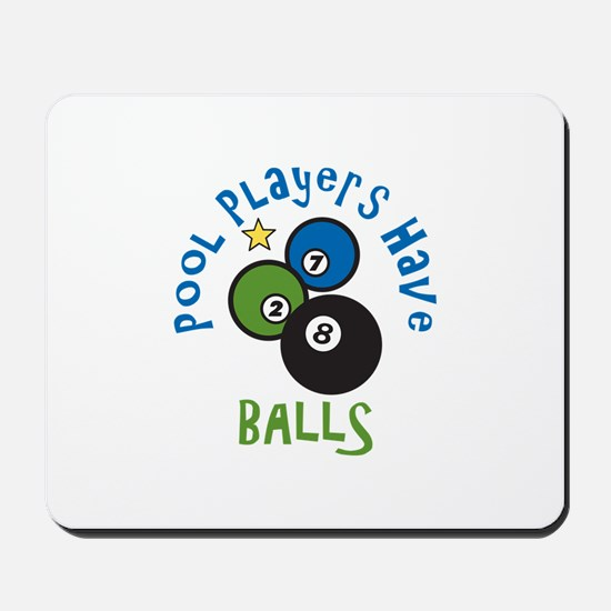 Pool Balls Mousepad