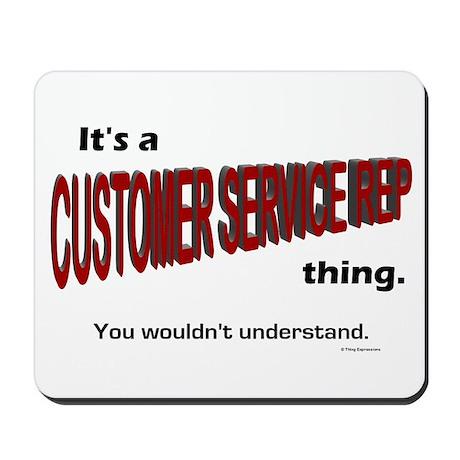 Customer Service Rep Mousepad