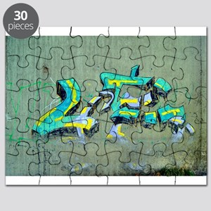Old Graffiti Puzzle
