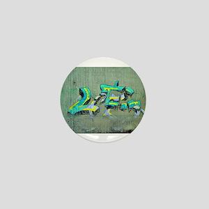 Old Graffiti Mini Button