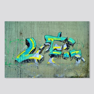 Old Graffiti Postcards (Package of 8)