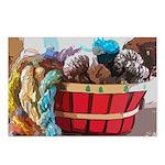 Art Yarn Basket Postcards (Package of 8)