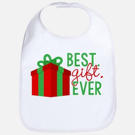 Best Gift Ever Cotton Baby Bib
