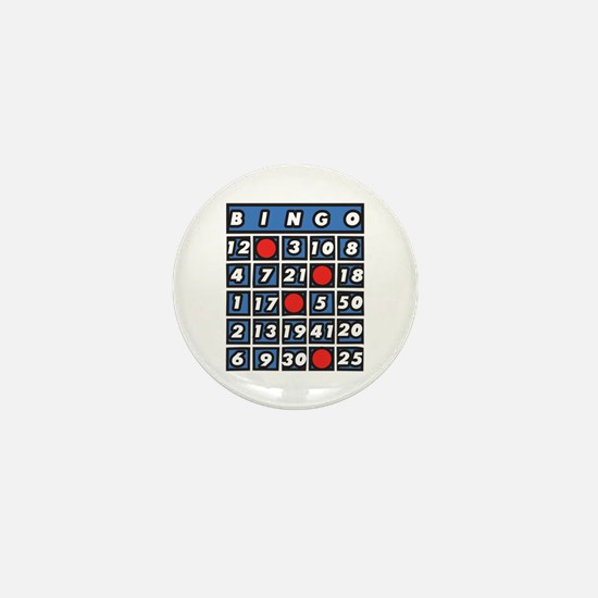 Bingo Card Mini Button