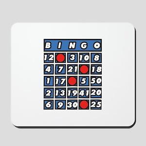 Bingo Card Mousepad