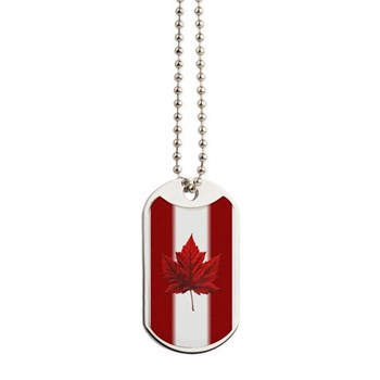 Canadian Flag Souvenir Art Gifts Canada Gifts Dog