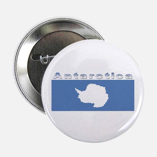 "Antarctic flag 2.25"" Button"