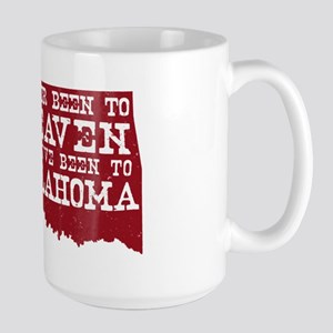 Oklahoma Heaven Large Mug