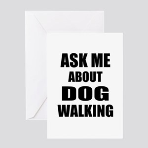 Ask me about Dog walking Greeting Cards
