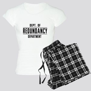 Dept. Of REDUNDANCY Department Pajamas