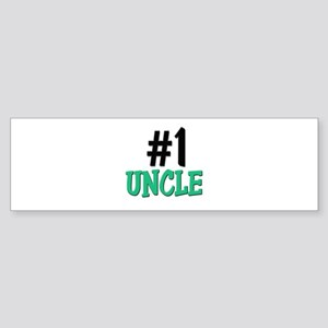Number 1 UNCLE Bumper Sticker