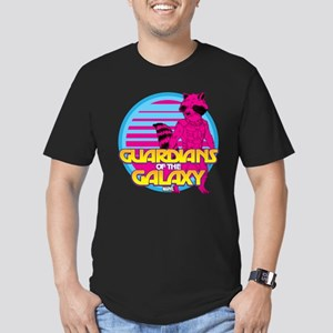 Rocket Pink Men's Fitted T-Shirt (dark)