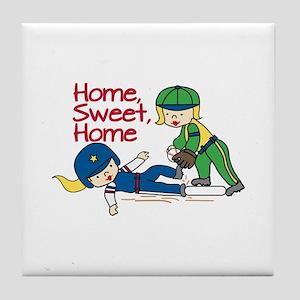Home Sweet Home Tile Coaster
