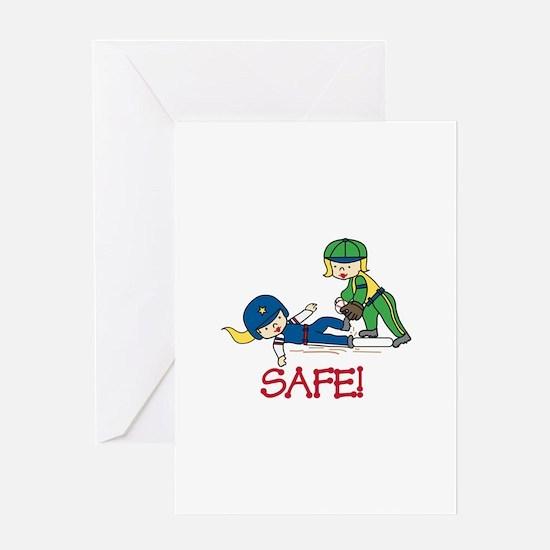 Safe! Greeting Cards