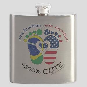Brazilian American Baby Flask
