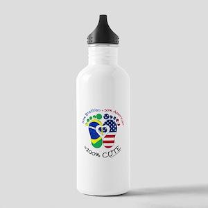 Brazilian American Bab Stainless Water Bottle 1.0L