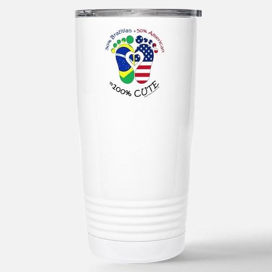 Brazilian American Baby Stainless Steel Travel Mug
