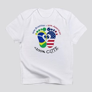 Brazilian American Baby Infant T-Shirt