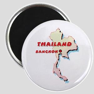Thailand Map Magnet