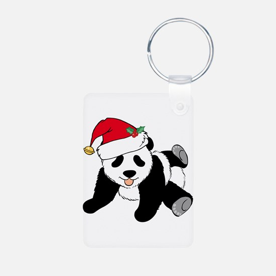 Christmas Panda Keychains