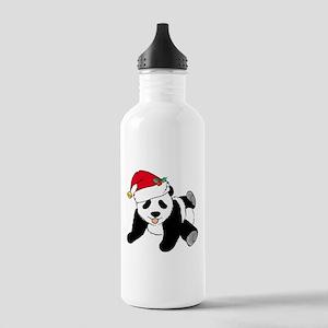 Christmas Panda Stainless Water Bottle 1.0L