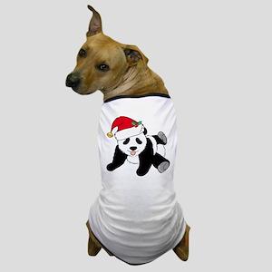 Christmas Panda Dog T-Shirt