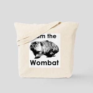 I am the Wombat  Tote Bag