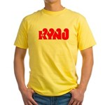 KYNO Fresno '68 - Yellow T-Shirt