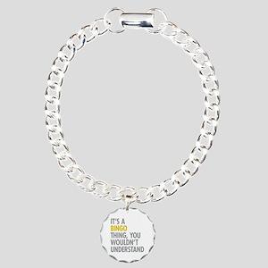 Its A Bingo Thing Charm Bracelet, One Charm