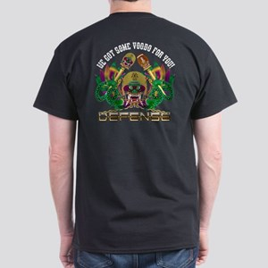 Football Defense Dark T-Shirt