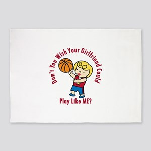 Play Like Me 5'x7'Area Rug
