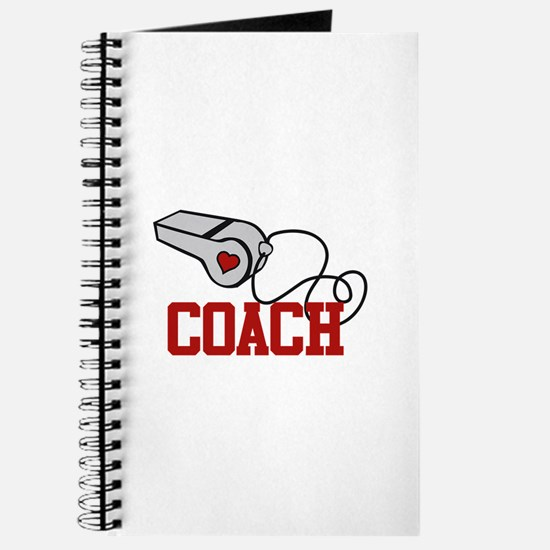 Coach Whistle Journal