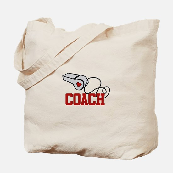 Coach Whistle Tote Bag