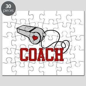 Coach Whistle Puzzle