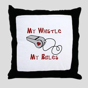 My Whistle Throw Pillow
